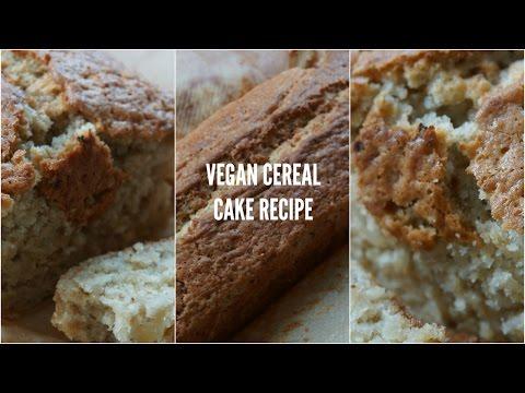 CEREAL CAKE RECIPE // Vegan, Gluten-free & SO FLUFFY !