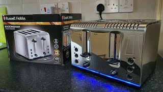 Faster toasting toaster with L…