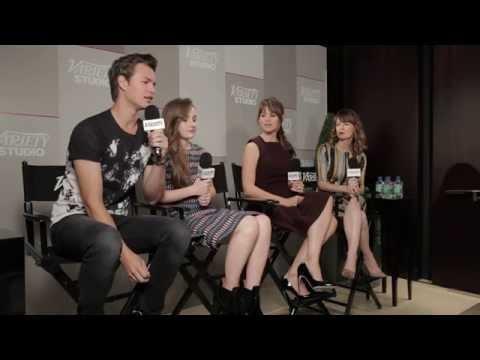 Ansel Elgort, Jennifer Garner and Rosemarie Dewitt Talk 'Men, Women & Children'