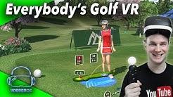 Eine Golfsimulation auf der PSVR? Geht das? Der Test! Everybody's Golf VR [Virtual Reality Gameplay]