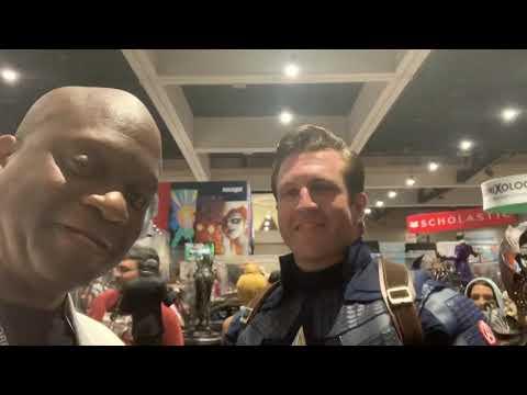 San Diego Comic Con 2019 - Captain America Interview