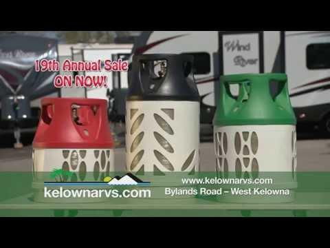 Kelowna RVs -Selling Light Weight Viking Composite Propane Cylinders!