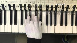 Piano 4 Kids  DARTH VADER THEME STAR WARS  Easy Melody PianoPhantomMenace