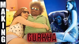 Gurkha Official Making | Yogi Babu, Anandraj | Raj Aryan | Sam Anton