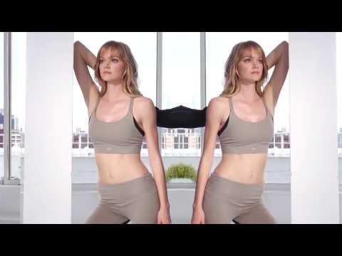 Lindsay Ellingson Victoria's Secret Workout Compilation