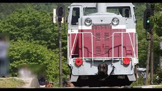 【4K60P】2018年5月片上鉄道保存会展示運転 その2