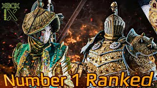 FOR HONOR - Number 1 Ranked Lawbringer Vs Number 1 Ranked Nobushi!