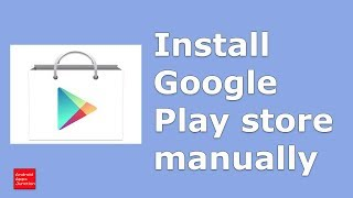 Gambar cover How to download google play store apk and install it in your android device