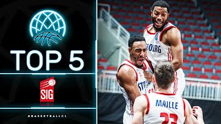 Top 5 Plays | SIG Strasbourg | Basketball Champions League 2020/21
