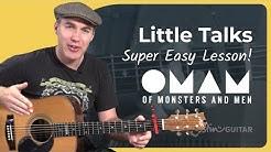 Little Talks - Of Monsters And Men - Beginner Song Guitar Lesson Tutorial (BS-620)
