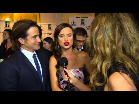 Juliette Lewis & Dermot Mulroney Dodge Red Carpet Interview - HFA 2013
