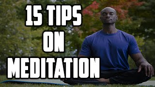 15 Tips On Meditation   Sufi Meditation Center