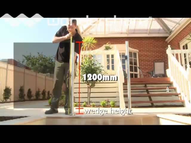 Highgrove Pool Fences Part 1 Dyi Instructional Dvd Glass Semi Frameless Post System Youtube
