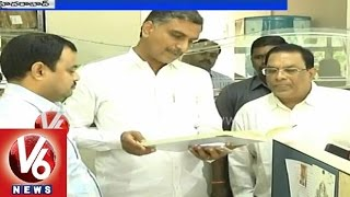 Telangana Minister Harish Rao made an inspection in Jala Soudha