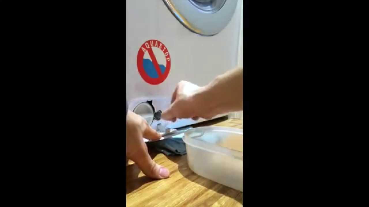 Pulizia filtro e cassetto detersivo lavatrici e for Consiglio lavasciuga