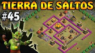 Tierra de Saltos | Campaña de Duendes #45 | Clash of Clans