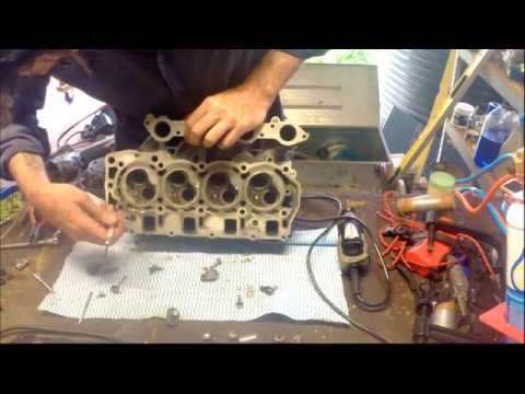 How to clean and lap valves