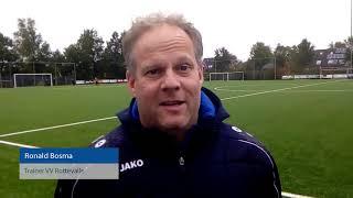 Trainer Ronald Bosma van VV Rottevalle over de wedstrijd tegen SC Twijzel