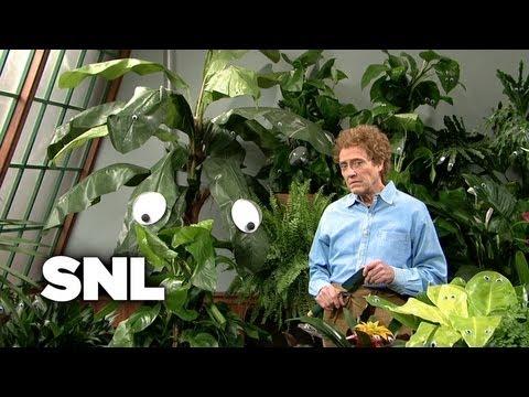 Googly Eyes Gardener - Saturday Night Live