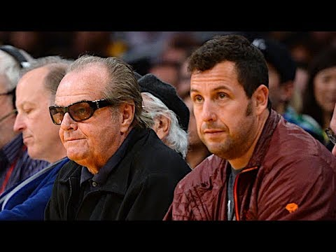 Adam Sandler: What It's Like to Sit Courtside with Jack Nicholson | The Dan Patrick Show | 3/16/18