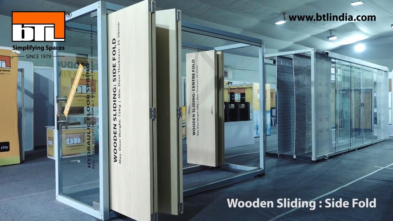 Wooden Sliding Folding Side Fold Youtube