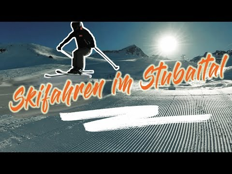 Skifahren Im Stubaital 2019
