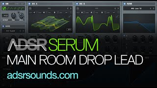 Main Room Drop Lead - Serum tutorial