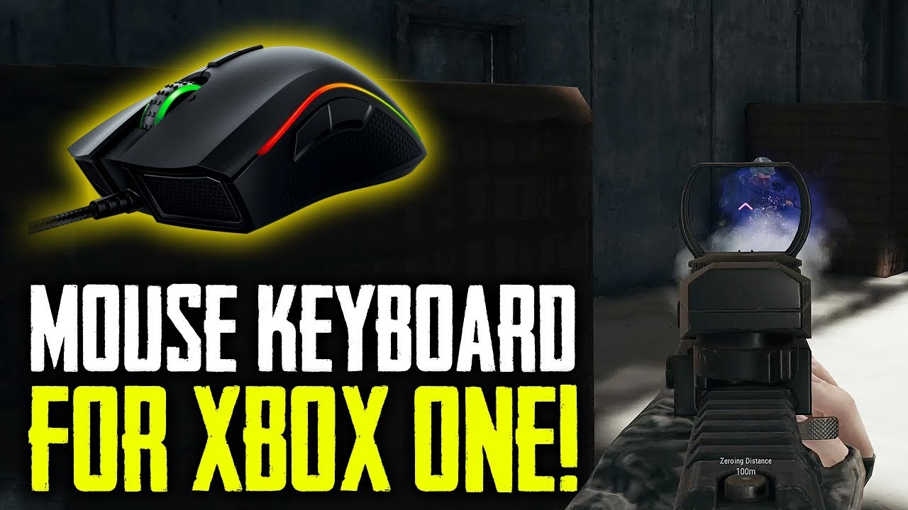Microsoft Official Keyboard & Mouse Support for Xbox One!