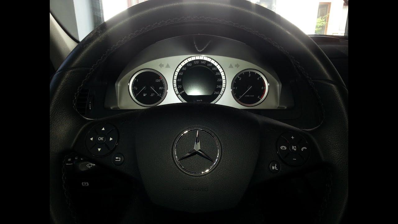 Servicemeldung zur cksetzen c klasse w 204 reset the for Mercedes benz service b3