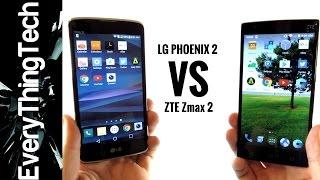 LG Phoenix 2 VS ZTE Zmax 2