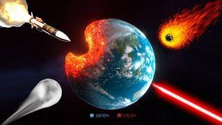 Полное уничтожение планеты ! ( Solar Smash )