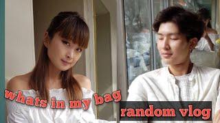 DamisUna random vlog, whats in my bag