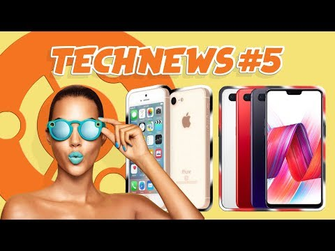 #TECHNEWS 5 - IPHONE SE 2 | ONEPLUS 6 | SNAP SPECTACLE | UBUNTU 18.04
