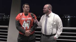 Eddie Vanderdoes Talks To FanRag Sports About The Senior Bowl And The 2017 NFL Draft