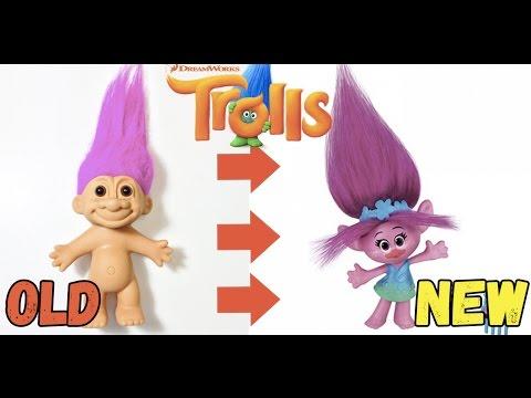 Trolls 2016 мультфильм Тролли - Игрушки Тролли - история Троллей