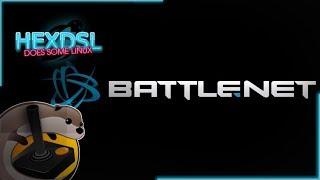 Battle.net (overwatch) on linux (via Lutris) again.