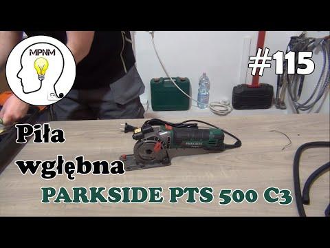 #115 - Piła wgłebna PTS 500 C3.