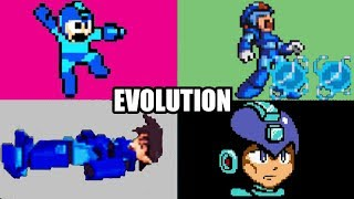 EVOLUTION OF MEGA MAN DEATHS & GAME OVER SCREENS (1987-2012) NES, SNES, PS, PS2, GBA, Wii & More!
