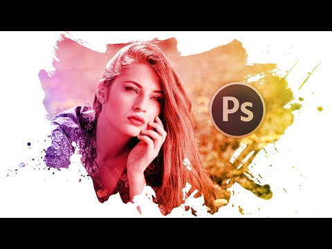 Paint Splash Effect in Photoshop Tutorial Method step-by-step thumbnail
