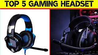 Top 5 Gaming Headset | Tech Product