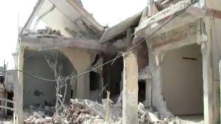الغارات الروسية تستهدف قرية الغنطو بريف حمص الشمالي