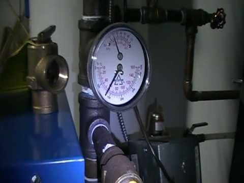 Relief valve on a hot water boiler (furnace)....part 5...Safety ...
