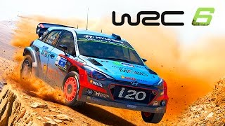 World Rally Championship 6 (WRC 6): Primeira Gameplay