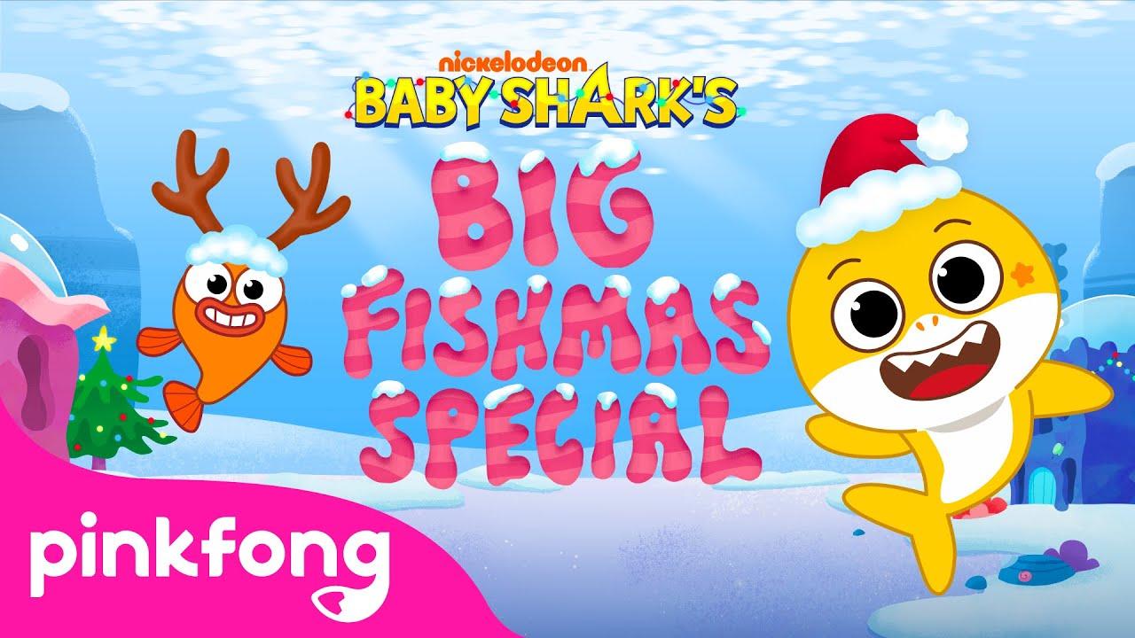 It's Fishmas! | Baby Shark's Big Show Teaser | Nickelodeon | Baby Shark Cartoon