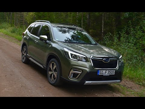 Subaru E-Boxer Launch Part 1   The Forester