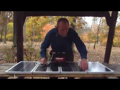 Солнечная зарядка мощность 100 ватт  Причины покупки, описание работы, устройство