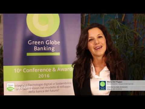 Intervista a Mara Del Puppo | X Edizione Green Globe Banking Conference & Award