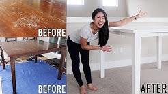 How To Paint & Refinish Furniture [Sanding Optional] | On A Budget For Beginners | DIY | Rust-Oleum