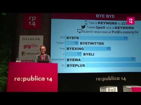 re:publica 2014 - Johnny Haeusler: Sie werden nicht gla... on YouTube