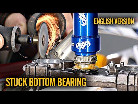 How To Replace Steering Stem Bearings Enduro